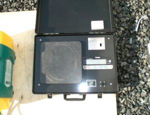 冷媒回収用計量器(過充填防止器付き)