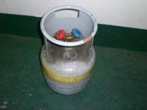 冷媒名の見えない容器
